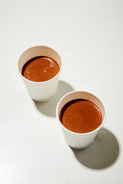 Chocolate pot, caramel & sea salt