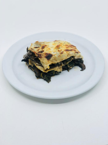Mushroom lasagne - for two to share