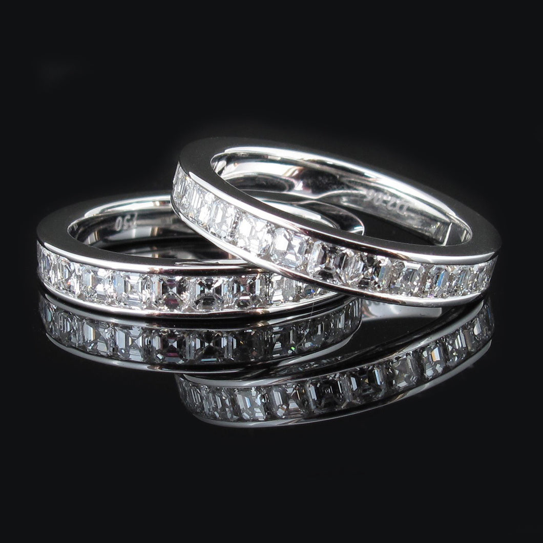Asscher Channel set bands