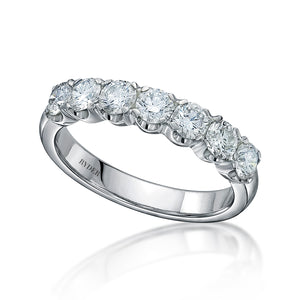 Mademoiselle Half Eternity Ring
