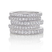 Micropave Eternity Ring