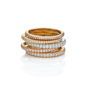 Steeple Set Eternity Ring