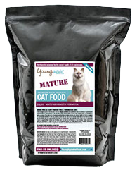Young Again Mature Health Cat Food 8lbs