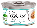 Chérie, Flaked Yellowfin mix Skipjack Tuna Entrées in Gravy (Signature Gravy Series) - 24 cans/ctn