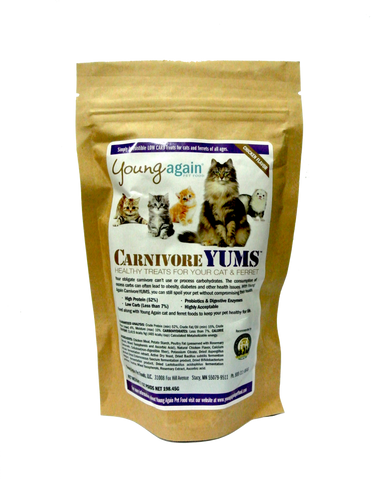 Young Again, CarnivoreYUMS for Cats