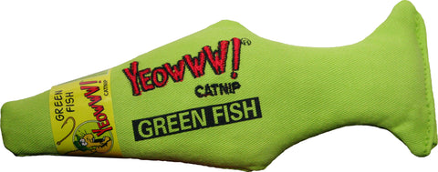 Yeowww! Green Yellow Fish