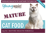 Young Again, Mature Health Premium High Protein Cat Food
