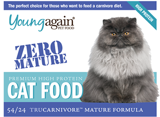 Young Again, Zero Mature Health Premium High Protein Cat Food