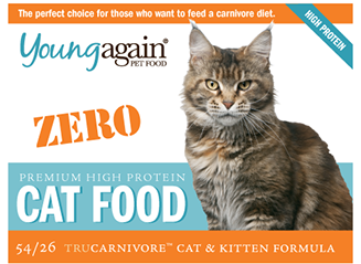 Young Again, Zero Premium High Protein Cat Food