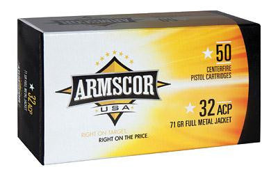 Armscor 32 ACP 71 Grain Full Metal Jacket