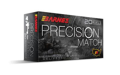 Barnes Precision Match 308 Winchester 175 Grain Open Tip Match