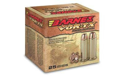 Barnes Vor-Tx 357 Magnum 140 Grain Jacketed Hollow Point