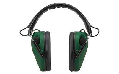 Caldwell E-Max Low-Profile Green Electronic Earmuff