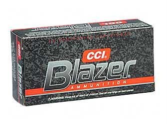 CCI Blazer 357 Magnum 158 Grain Jacketed Hollow Point