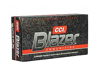 CCI Blazer Aluminum 380 ACP 95 Grain Full Metal Jacket