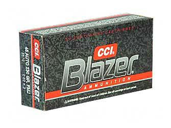 CCI Blazer Aluminum 45 ACP 230 Grain Full Metal Jacket