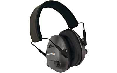 Champion Trap & Targets Black Electronic Earmuffs