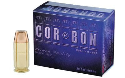 CorBon 45 ACP +P 165 Grain Jacketed Hollow Point