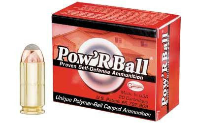 CorBon Pow'RBall 40 Smith & Wesson 135 Grain Jacketed Hollow Point