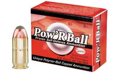 CorBon Pow'RBall 45 ACP +P 165 Grain Jacketed Hollow Point