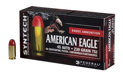 Federal American Eagle 45 ACP 230 Grain Weight Total Synthetic Jacket
