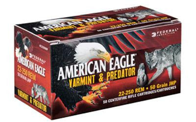 Federal American Eagle Varmint & Predator 308 Winchester 130 Grain Jacketed Hollow Point