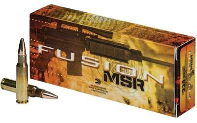 Federal Fusion 223 Remington 62 Grain Soft Point