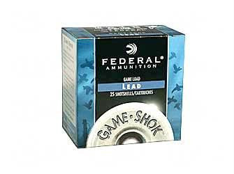 "Federal Game Load 12 Gauge 2-3/4"" #7.5 Shot"