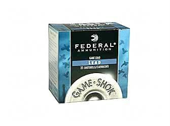 "Federal Game Load 20 Gauge 2-3/4"" #7.5 Shot"