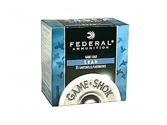 "Federal Game Load 20 Gauge 2-3/4""#8 Shot"