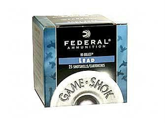 "Federal Game-Shok Heavy Field Load 410 Gauge 2-1/2"" #6 Shot"