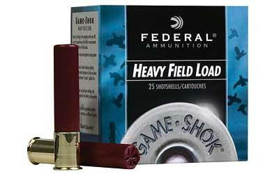 "Federal Game-Shok Heavy Field Load 410 Gauge 2-1/2"" 7.5 Shot"