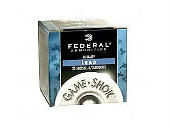 "Federal Game-Shok Heavy Field Load 410 Gauge 3"" #7.5 Shot"