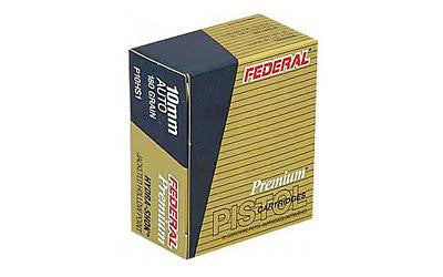 Federal Hydra-Shok 10mm 180 Grain Jacketed Hollow Point