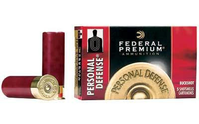 "Federal Personal Defense 12 Gauge 2-3/4"" #00 Buckshot 9 Pellet"