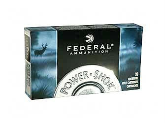 Federal Power-Shok 223 Remington 55 Grain Soft Point