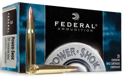 Federal Power-Shok 223 Remington 64 Grain Soft Point