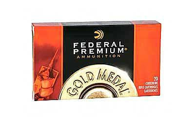 Federal Premium Gold Medal 308 Winchester 168 Grain Boat Tail Hollow Point