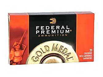 Federal Premium Gold Medal Match 223 Remington 77 Grain Boat Tail Hollow Point