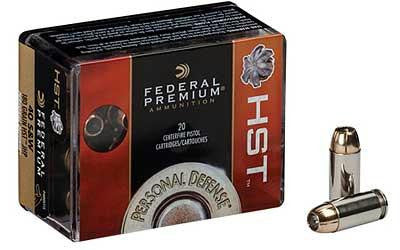 Federal Premium HST 40 Smith & Wesson 180 Grain Jacketed Hollow Point