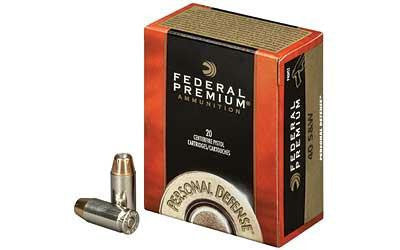 Federal Premium Hydra-Shok 40 Smith & Wesson 155 Grain Jacketed Hollow Point