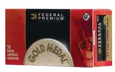 Federal Premium Match 22 Long Rifle 40 Grain Lead Round Nose