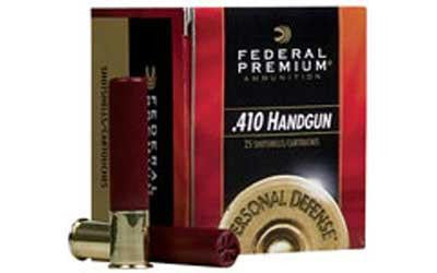 "Federal Premium Personal Defense 410 Gauge 2-1/2"" #4 Shot"