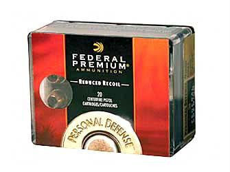 Federal Premium Personal Defense Hydra-Shok 380 ACP 90 Grain Jacketed Hollow Point