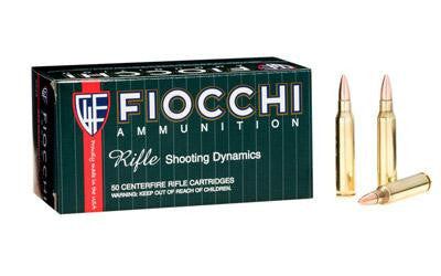 Fiocchi 223 Remington 55 Grain Full Metal Jacket Boat Tail