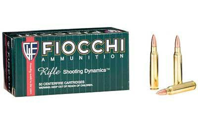 Fiocchi 223 Remington 62 Grain Full Metal Jacket Boat Tail