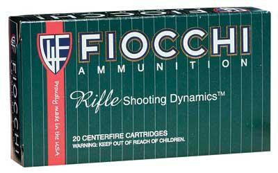 Fiocchi 308 Winchester 150 Grain Pointed Soft Point