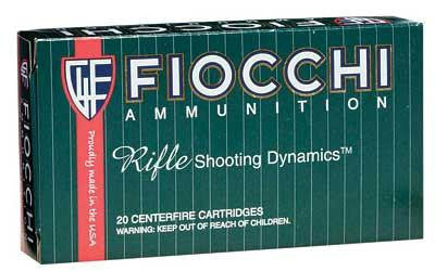 Fiocchi 308 Winchester 165 Grain Interlock Boat Tail Soft Point