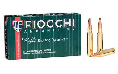 Fiocchi 308 Winchester 180 Grain Pointed Soft Point