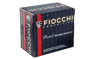 Fiocchi 38 Special 110 Grain XTP Jacketed Hollow Point